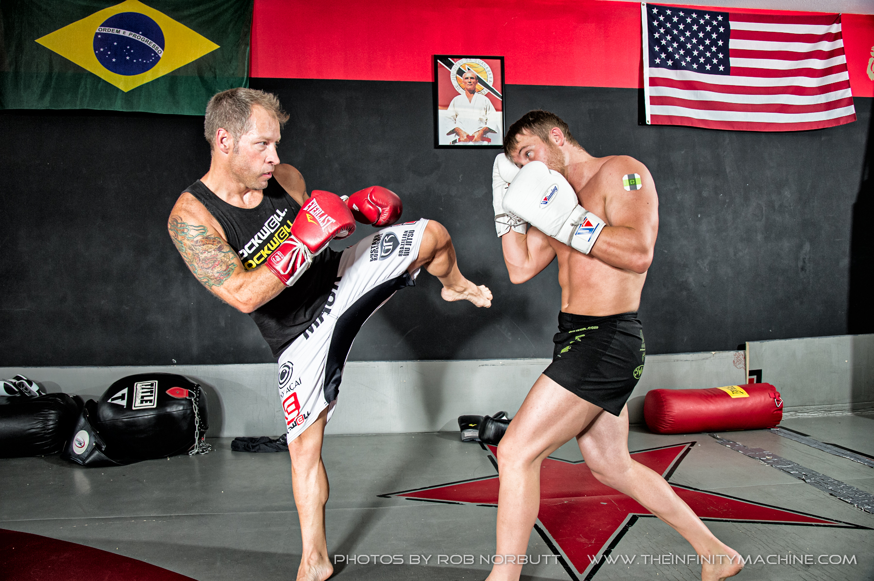 Layton's One Hit MMA gym is packed full of contenders