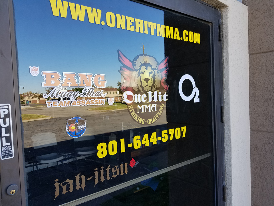 OneHit MMA local martial arts training front door