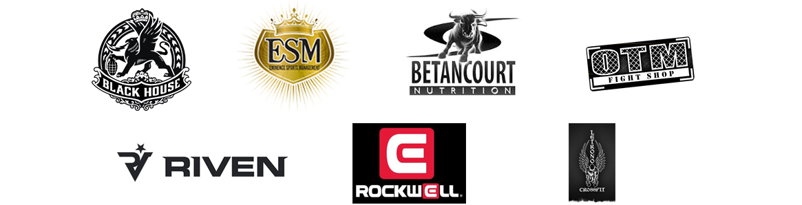 One Hit MMA Sponsor Logos