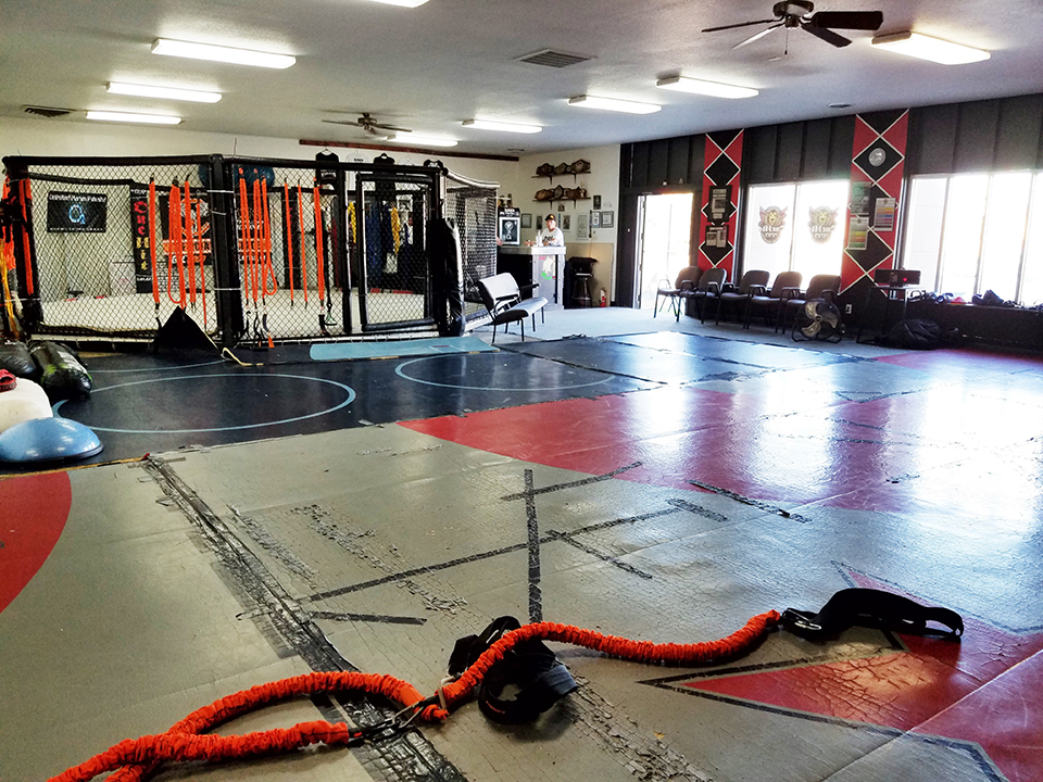 OneHit MMA large mat room