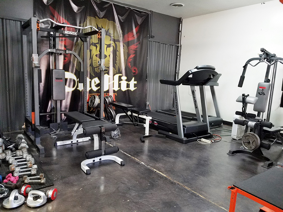 OneHit MMA workout training center