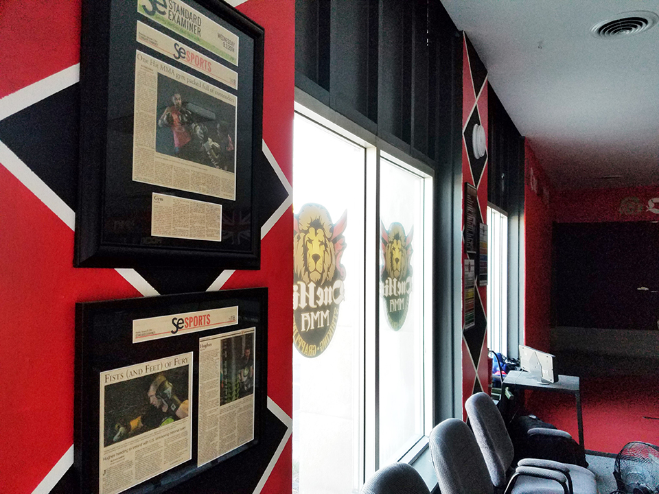 OneHit MMA prized MMA gym