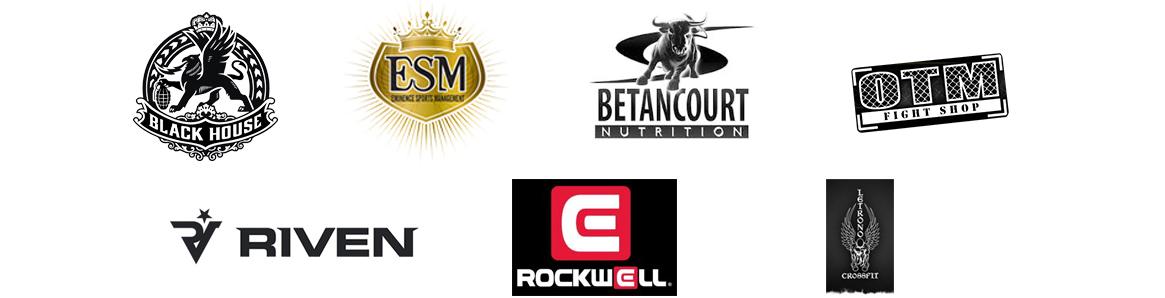 One Hit MMA Sponsor Logos